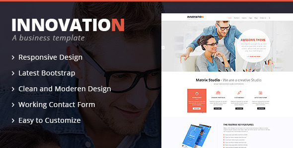 Innovation - Bootstrap Multipurpose HTML 5 Template