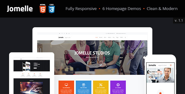 Jomelle | Multi-purpose Business Html Template