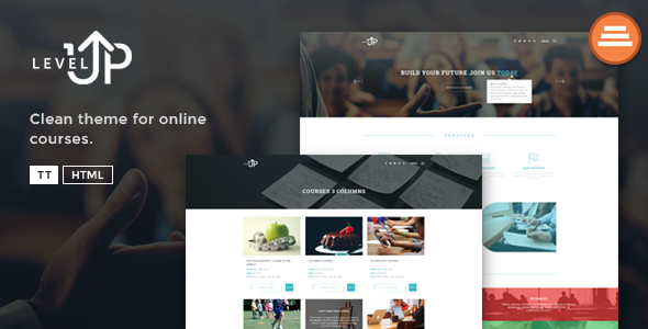 LevelUp - A Educational / Courses HTML Template