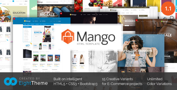 Mango | Responsive Ecommerce HTML5 Template