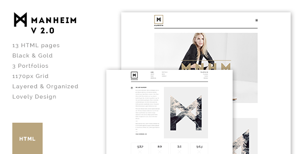 Manheim - Creative HTML Template