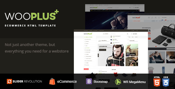 WooPlus - Shopping HTML5 Template