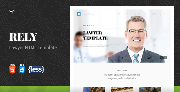 Rely - Lawyer HTML5 Template