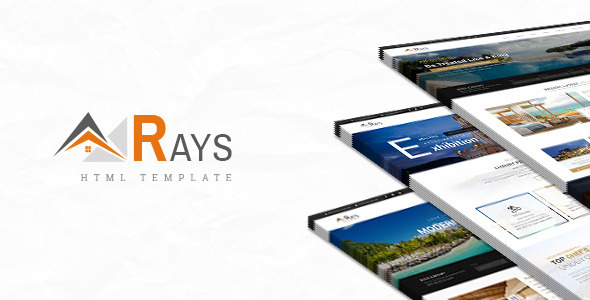 Rays - HTML Template for Spa, Resorts and Hotels