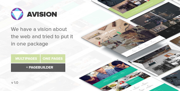 Avision - MultiPurpose HTML5 Template