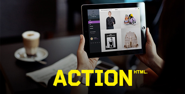 Action | HTML Template