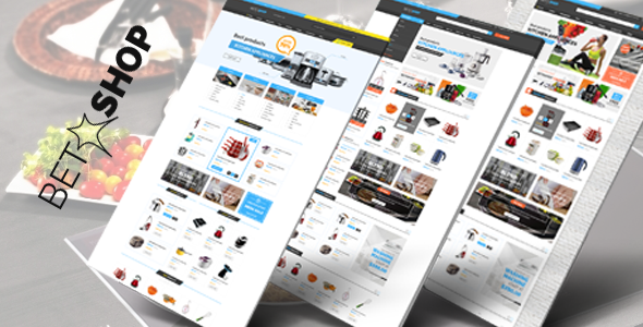 Betashop - Kitchen Appliances HTML Template