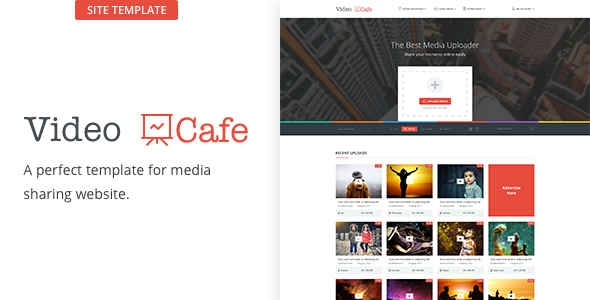 Video Cafe - Photo/Video Uploading Social Template
