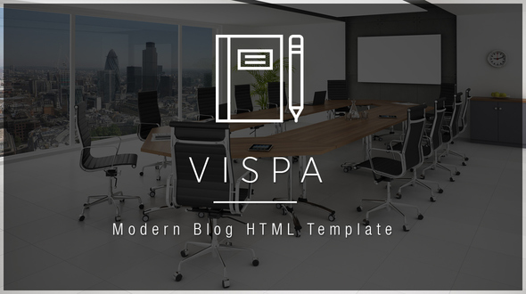 Vispa - Business Blog HTML Template
