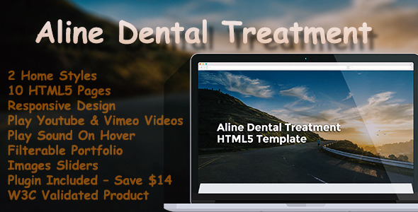 Aline Dental Treatment - HTML5 Template