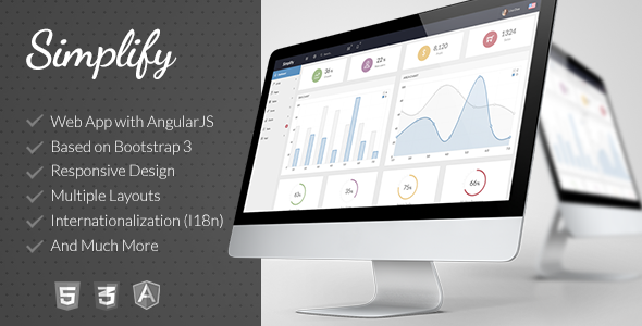 Simplify - Responsive Admin App with AngularJS