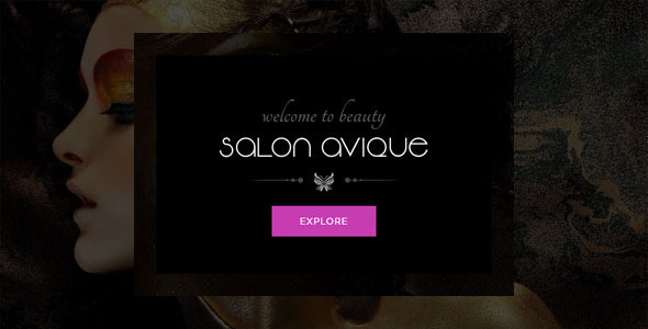 Avique | Barbershop, Spa, Beauty, Manicure HTML