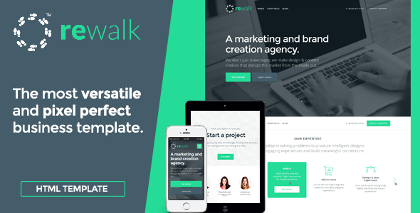 ReWalk - Responsive Business HTML Template