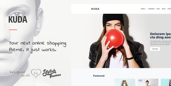 KUDA - Your Next Online Shopping Template