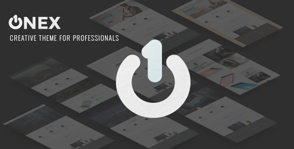 OneX - Creative Template for Professionals