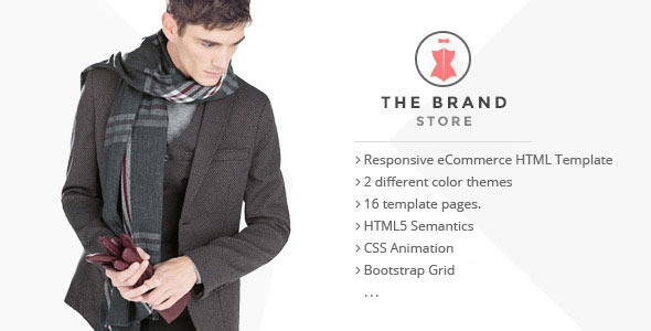 The Brand Shop eCommerce HTML5 Template