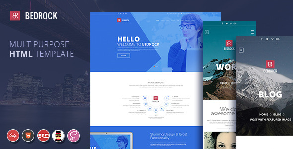 Bedrock | Multipurpose HTML Template