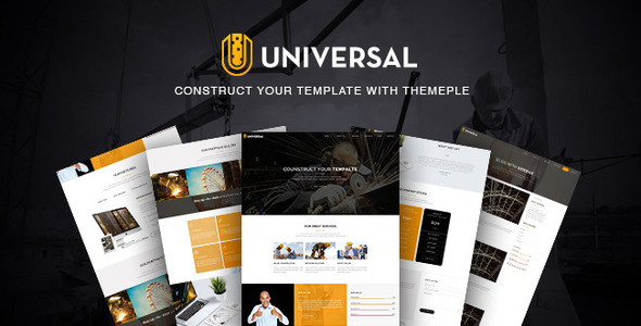 Universal - Responsive Business Template