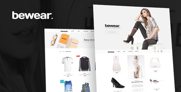 Bewear - Lookbook Fashion eCommerce HTML Template