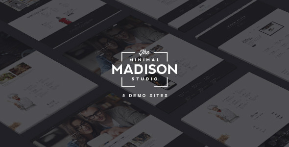 MADISON - Responsive MultiPurpose HTML5 Template
