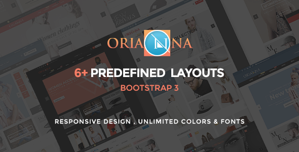 Orianna - HTML Multi Purpose Template