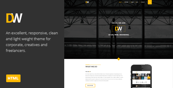 DW | Multi-Purpose Parallax HTML Theme