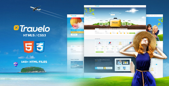 Travelo - Responsive Travel Booking Site Template