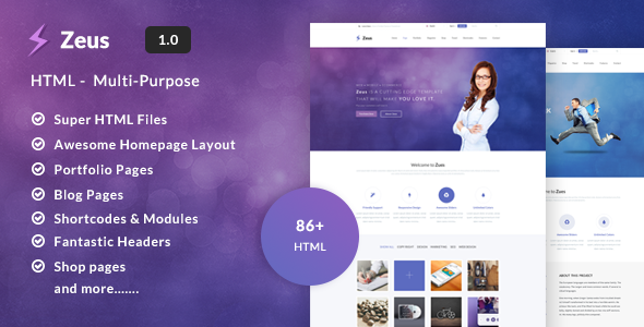 Zeus - Multipurpose Template