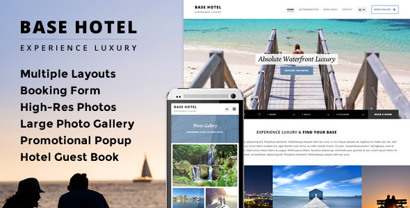 Base Hotel - Responsive Booking Template
