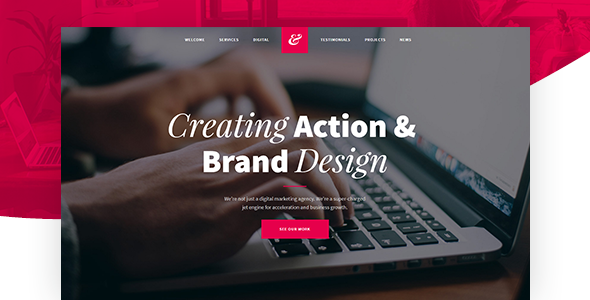 Krita - Creative Agency Muse Template