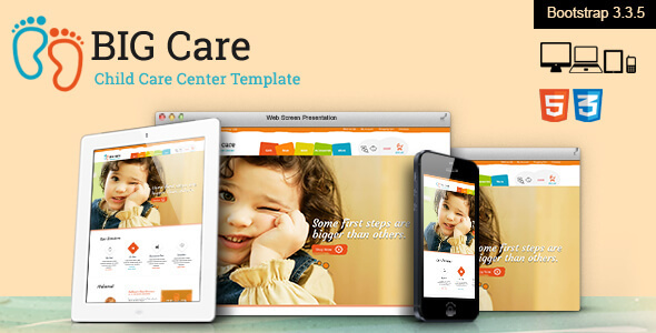 Big Care - Child Care & Shop Template
